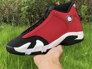 2020 أحذية الجملة الجديدة رياضة الأحمر 14 والرابع عشر منخفضة كرة السلة للرجال الرجال 14S حذاء الرياضة في الهواء الطلق المدربين جودة عالية SIZE 7-13