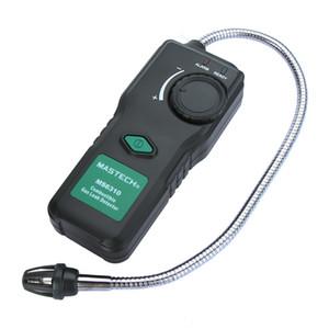 Freeshipping Analizador de gas portátil Detector de gas inflamable de uso múltiple Probador de fugas de gas combustible Alarma de luz de sonido Sensibilidad ajustable