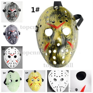 100pcs Masquerade Masks For Adults Jason Voorhees Skull Mask Paintball Movie Mask Scary Halloween Costume Cosplay Festival Party Mask