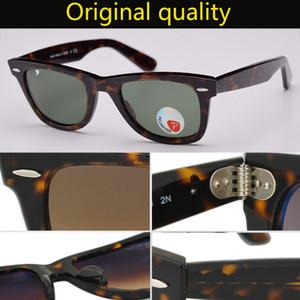 أعلى جودة العلامة التجارية راي خلات النظارات الشمسية المستقطبة 2140 العدسات الحقيقي المسافر G15 Gglass النظارات الشمسية الرجال النساء نظارات شمسية حماية للأشعة فوق البنفسجية