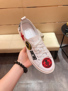 Ace Bee 2020 new luxury fashion designer sneakers leather platform vintage high quality women mens shoes mouse cartoon print size 38-44 H119