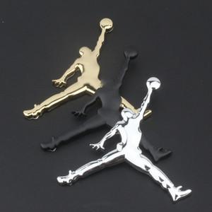 Commercio all'ingrosso Car Styling Moto metallo pallacanestro decalcomania Fan Badge Adesivi Audi BMW VW Volkswagen Skoda Peugeot Mercedes Jaguar