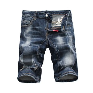2020 Fashion Mens Designer Jeans Sports Mens Jeans High Quality Fashion Black Sports Outdoor Football Style Lightweight Jeans Shorts