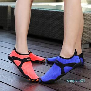Sıcak Satış-Yeni Yaz Gençlik Spor Çapraz Eğitim Çift Kadınlar Sevimli Sneakers Sürüş Seyahat Joker Ayakkabı Dalış Swim Soğuk