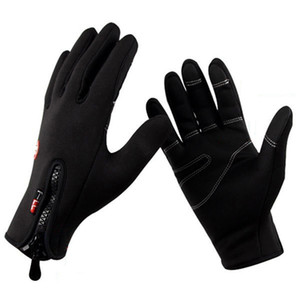 Thermische winddichte Fahrradhandschuhe Touchscreen Bike Guantes Männer Frauen Winter Warme Handschuhe Fahrrad Reiten Skifahren Wanderhandschuhe