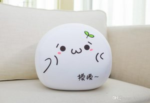 Children Plush Toys Yan Text Pillows Dumplings Foam Particles Expression Pack Pillow Anime Peripheral Toys 30 cm