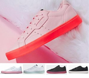 2019 Классический Jelly Sleek w Повседневная обувь Женские кеды Дизайнерские женщины Все из натуральной кожи Скейтборд Противоскользящая обувь для девочек Повседневная обувь