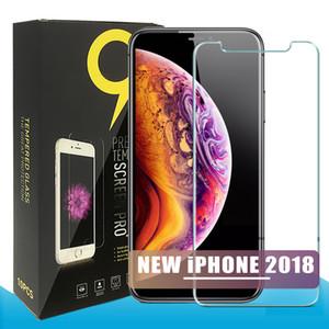 Para samsung a10 a20 a30 a40 a40 j4 j6 plus iphone x xr xs max x 8 7 protetor de tela de vidro temperado pacote 0.26mm