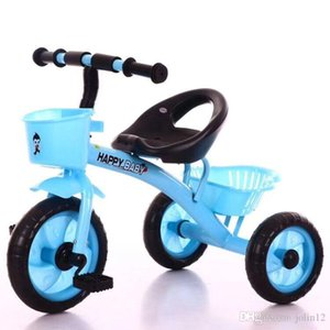 2019 Factory Direct Sales Cheaper Children's Tricycle Baby Bike Simple Trolley 1-3-5 Year Old Toy Giveaway Car Stroller