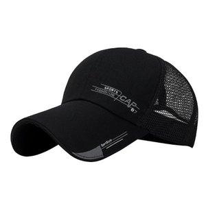 New Arrival Adult Unisex Mesh Baseball Caps Adjustable Cotton Breathable Comfortable Sunshade Sun Hat Snapback Caps Dropship