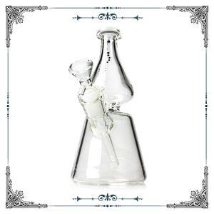 New Helix Bong en verre Heigh qualité Smoking Pipes eau Hookah Waterpipes Brosilicate verre Bongs Usine de gros