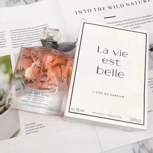Mujer Parfum Fragancias para mujer La Vie Est Belle 75ML Perfume para la mujer spray envío de la alta calidad