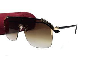 Men Coating Sunglasses With Luxury Designer Half Wrap For Frame Fashion Lens Summer Style Vintage Outdoor Eyewear Oculos 0291 Box Cuwge