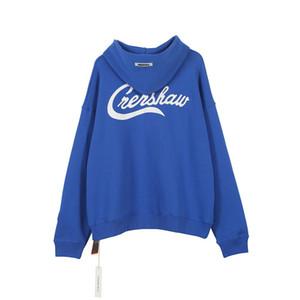 La meilleure qualité Mens Designer Sweats à capuche Nipsey Hussie Sweatshirts Hommes Femmes Crenshaw broderie surdimensionné Polaires ras du cou à capuche Homme
