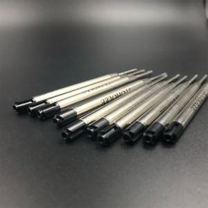 STOHOLEE Marca 20Pcs / Negro Azul Pen Refill buena calidad para Bolígrafo Recambio papelería regalo SchoolOffice Proveedores