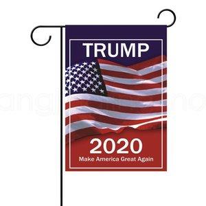 USA 선택 2020 대통령 지원 야외 장식 파티 호의 소품 배너 30 * 45cm TRUMP 정원 플래그를 13styles FFA4017-9