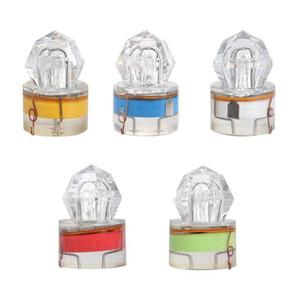 LED 조명 낚시 미끼 크리스탈 플래시 소프트 미끼 플라스틱 낚시 릴 수중 4 7sx C2 캐스팅 미끼 빛나는 램프 미끼를