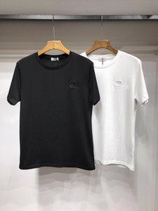 20SS Nouveau luxueux logos de broderie CD concepteur de marque T-shirt ras du cou T Respirant Streetwear extérieur T-shirt 6,10