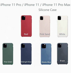 2019 funda de silicona original del Nuevo Modelo para el iPhone de Apple 6 7 8 Plus X XR XS Max para el iPhone 11 Pro 2019 Max caso con la caja