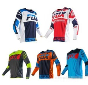 Hot FOX speed surrender new summer long-sleeved off-road motorcycle racing suit T-shirt outdoor quick-drying cycling suit T-shirt custom