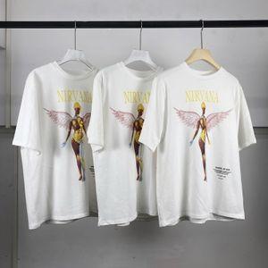 2020SS sesta stagione nuova estate timore di Dio Nirvana Nirvana banda angelo FOG Kanye femminile gli uomini della T-shirt a maniche corte