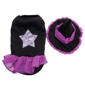 Halloween Christmas Pet Dog Puppy Wizard Dress Hat Clothes Costume Coat Apparel