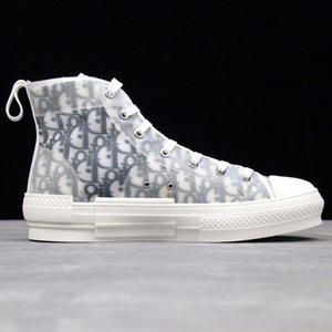 Dior Converse B23 Nike Air Bleu Oblique AJ1 High Top Low Designer Luxury KAWS Slipper B24 Kim Jones Kanye West Hommes Femme Men Women Sports Running Shoes Sneakers Casual Shoes