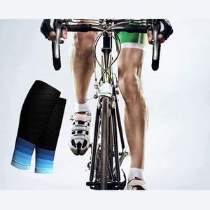 Sport Sicherheit Calf Compression Sleeves Radfahren Laufen Unisex Breath Unterstützung Sport-Schutz