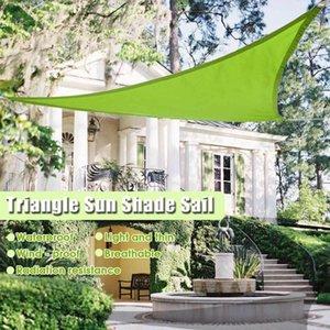 3colors الشحن 2Mx2Mx2M المثلث الشمس المأوى مظلة حماية الهواء الطلق كانوبي حديقة فناء بركة الظل الشراع المظلة نزهة تخييم خيمة