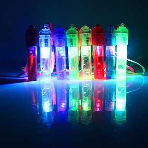 LED Light Up Whistle Colorful Luminous Noise Maker Kids Toys Birthday Party Novelty Props Christmas Party SuppliesT2I5441