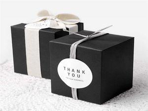 100 stücke bäckerei verpackung cookies box kuchen box mousse pastry kraft verpackung papierkasten, das aussehen atmosphäre ist einfach zu bedienen