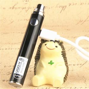 100% Oringinal EcPow Evod UGO V II 650mAh 900mAh Ego 510 Batteria 8 colori Micro USB Charge Passthrough E-cig O Pen batterie Vape