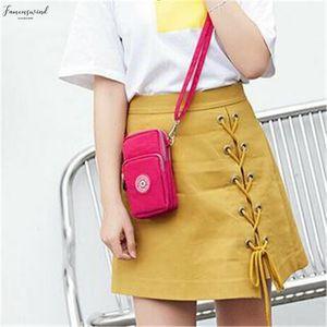 Ladies Cross Body Mobile Phone Bags Womens Fashion Shoulder Bag Pouch Case Belt Handbag Purse Wallet Message Bags New 2020