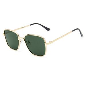 11 Colors Square Women Sunglasses Men Classic Sun Glasses Lady Metal Frame Retro Female Eyewear Male UV400 Gafas De Sol Mujer