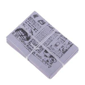 1Set 1 12 Dollhouse Miniature Accessory Newspaper Newsprint Life Scenes Decor