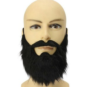 Savage Pirate Decoration Masquerade Props Children Fake Beard Funny Props Mustache Halloween Party Decoration Supplies