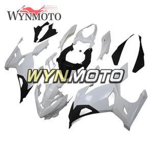 Неокрашенный обтекатель комплект для Kawasaki Ninja 400 Full Fairing ABS Инъекции Ninja шелуха Пластиковых панелей AutoCycle Kit голого тела
