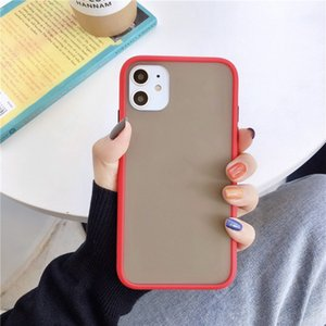 High Quality Smooth TPU And PC Phone Case Transparent Back Cover For iPhone 6 7 8 XR XS MAX 11 Pro Max