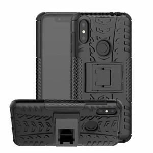 6.2inch Pour Motorola Moto P30 Note / Un Power Case Heavy Armure Armure Antichoc Hybrid Dur Doux Silicone Dur En Caoutchouc Couverture De Cas