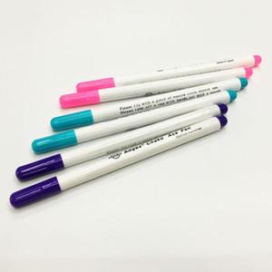 4pcs Nähen Werkzeuge Air-löschbare Feder Leicht abzuwischen Wasserlöslicher Stoff Marker Pen Temporary Schneiderkreide ersetzen Kennzeichnung