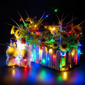 Outdoor Fairy String Light Multimodal Optional Night Lights Garden and Christmas Party Decoration Landscape Lighting