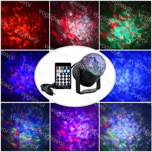 Efeitos LED 5W 15Color Voz Controlled Water Mark Flame Abs RGBW Bola mágica para o Natal Dia das Bruxas Brightday Fase Iluminação DHL