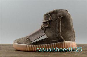 19designer shoes Kanye West 750 boots Light Grey Brown sneakers Triple Black Grey basketball shoes 750 basketball shoes Outdoor jogging c25