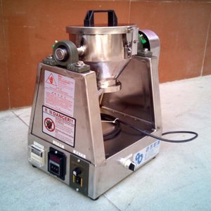 1PC 1kg Laboratory Medicinie / drgus / comprimido o pegar materiales Mixer (batidora) 220V50Hz (304stainless Tipo de acero)