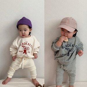 MİLANCEL 2020 bahar yeni bebek giyim seti karikatür tarzı bebek kız spor takım elbise yürüyor boys kıyafet bebek giysileri