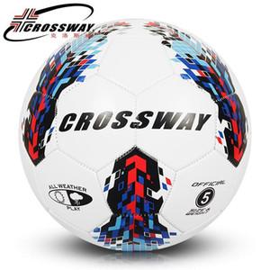 2017 High Quality A+++ Standard Soccer Ball PU Soccer Ball Training Balls Foot ball Official Size 5 race dedicated