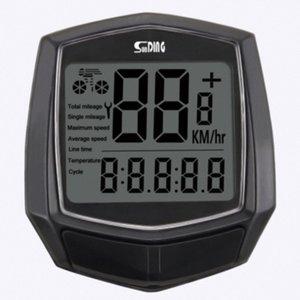 Sensore Wired Accessori per digitali Accessori della bicicletta dell'orologio retroilluminazione bicicletta tachimetro nero impermeabile cronometro Cycl t7Wr #