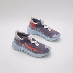 2020 New pre-sale 03 Space Hippie men women casual shoes The blue-gray-red sneakers shoes high quality size 36-45