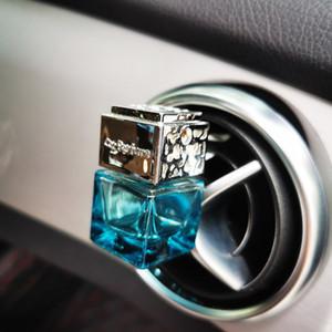 Nouvelle Désodorisant voiture parfum parfum clip bouteille en verre vide Climatiseur automatique Vent Outlet Huiles Essentielles Diffuseur Ornements