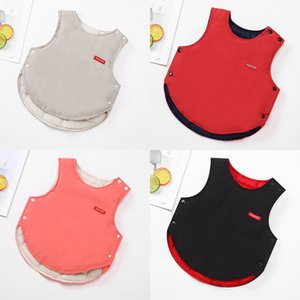 2019 children's down cotton warm vest children's cotton vest male and female baby's warm waistcoat